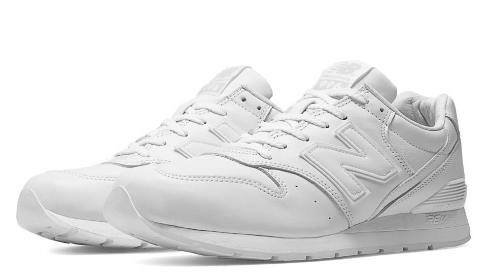 new balance 996 blanche